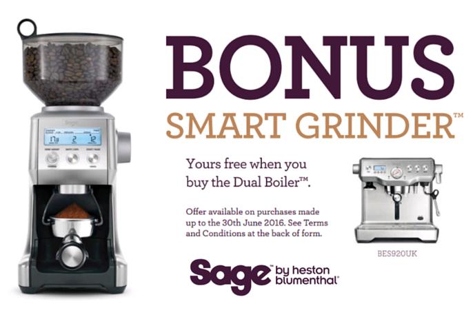 Bonus Smart Grinder Promotion