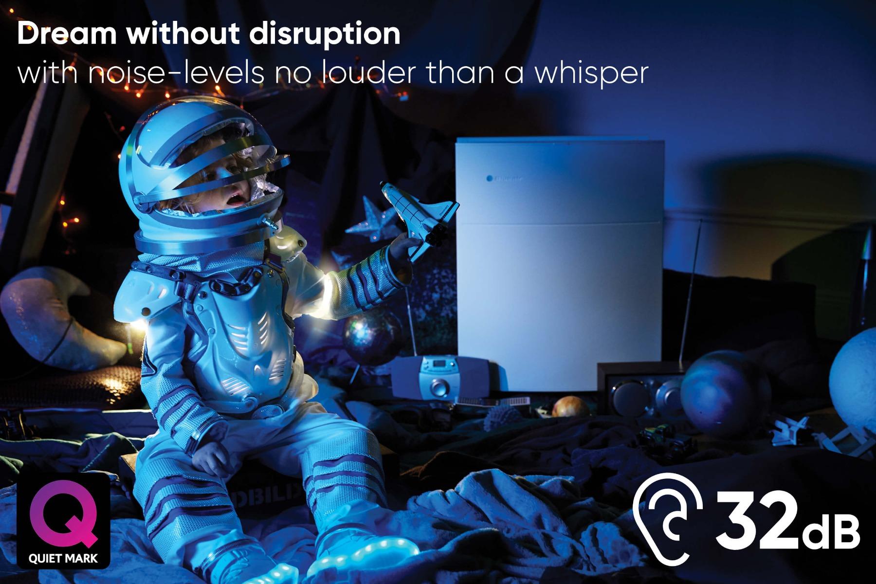 Blueair Classic 405 Air Purifier Sleep without distruption