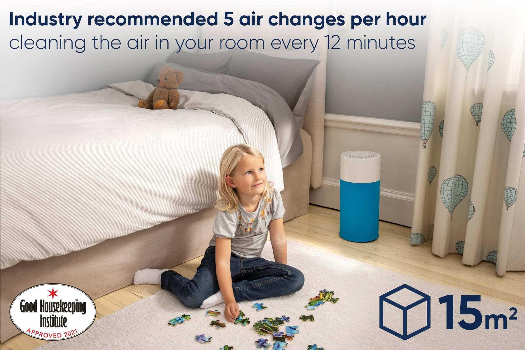 Blueair  designed for small spaces
