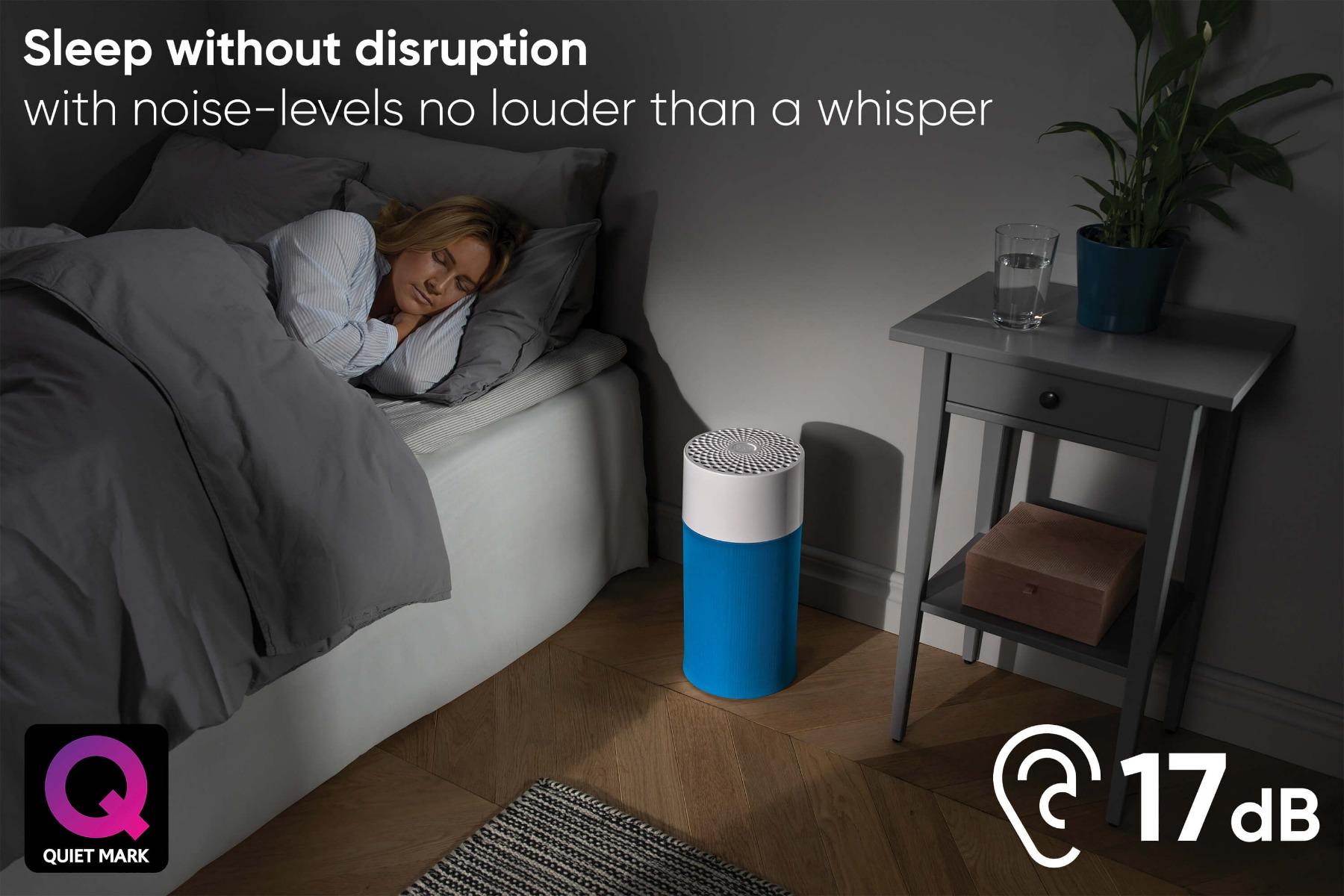 Blueair sleep without disprution quiet mark