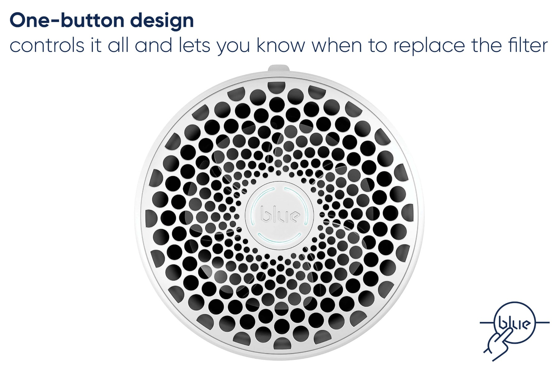 Blueair One button design