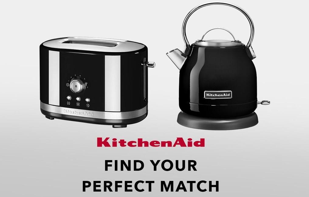 Kitchenaid Kettle and Toaster Black