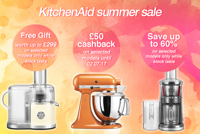 KitchenAid Summer Sale - SHOP NOW!