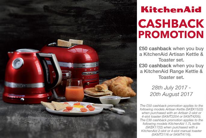 Kitchenaid Cashback Promotion