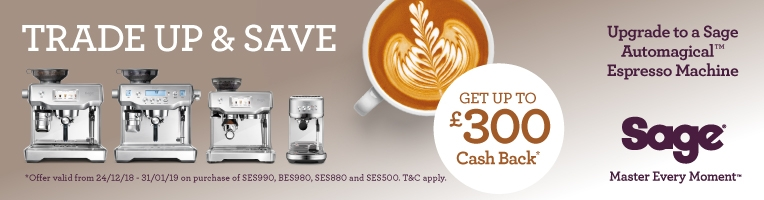Sage Trade In Promotion Coffee Machine