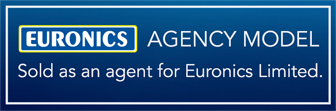 Euronics Agency Model - Sold as an agent for Euronics Limited