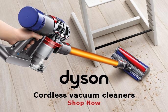 Dyson Cordless Vacuum Cleaners - SHOP NOW!