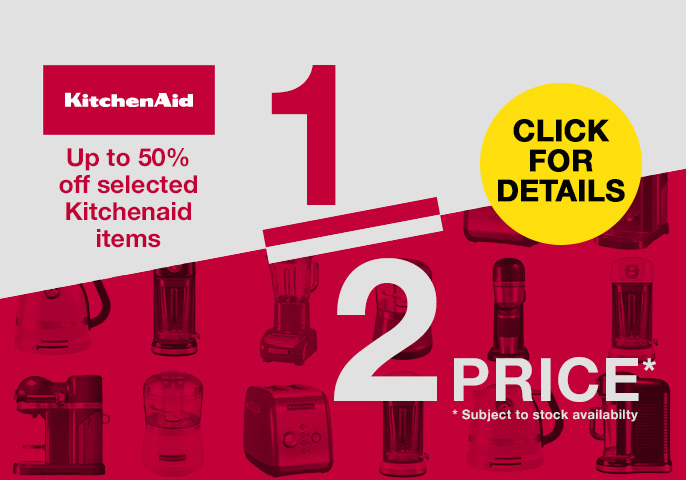 Kitchenaid Up To Half Price Offers