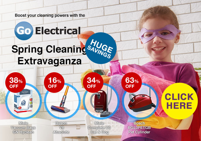 Go-Electrical Spring Cleaning Extravaganza