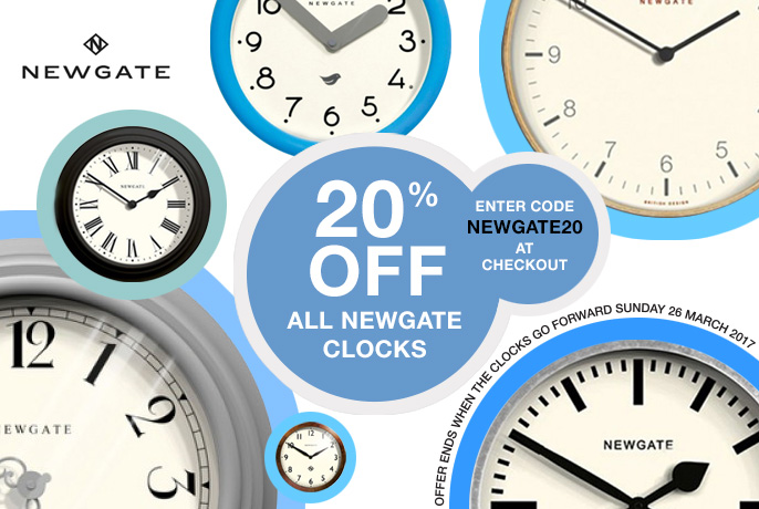 Newgate Clocks and Watches Promotion