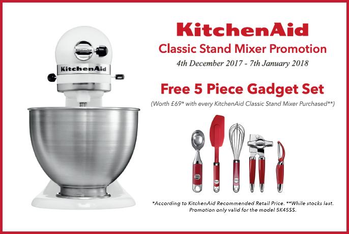 Kitchenaid Classic Stand Mixer Promo