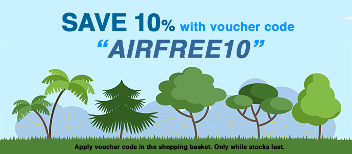 Airfree 10% discount code